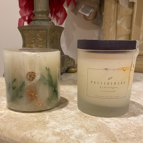 VINTAGE Pair of Pottery Barn Candles. NEVER OPENED